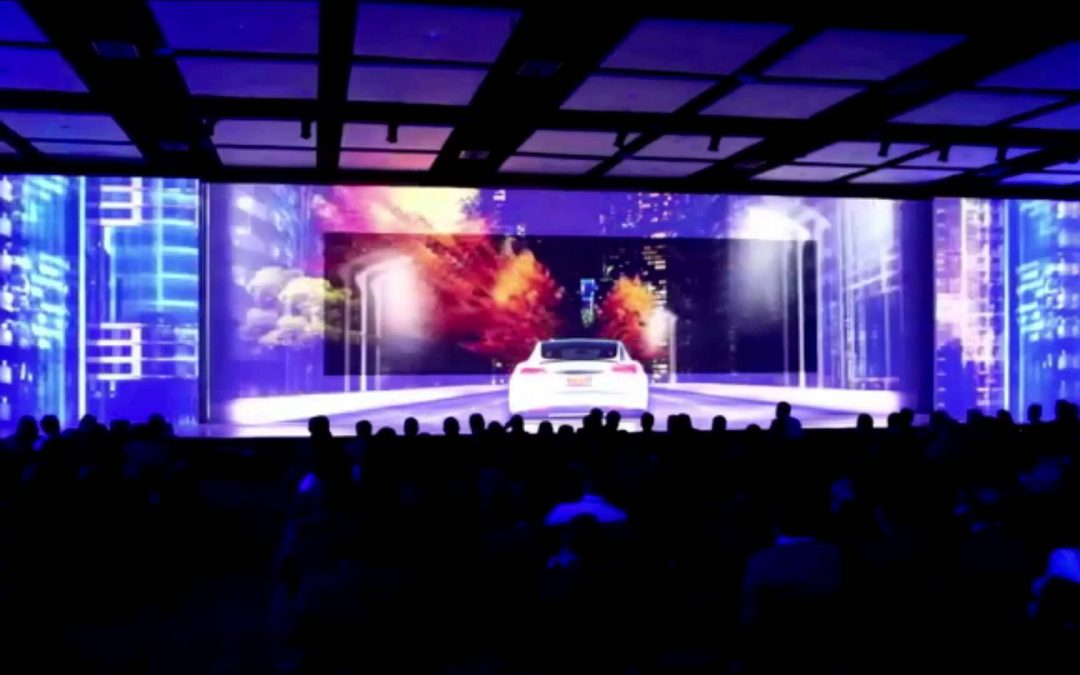 Tendencias audiovisuales para eventos  2018/2019