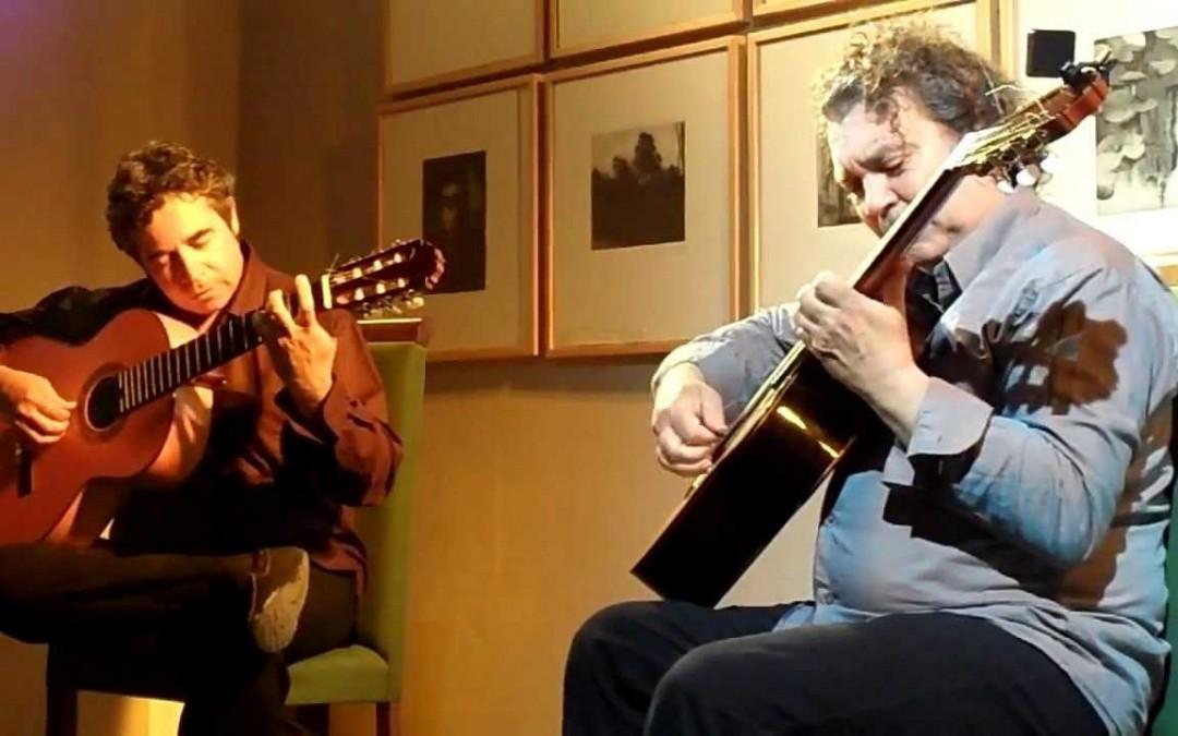 Nono García y Tito Alcedo