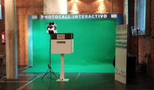 photocall interactivo para eventos de 18Chulos records&Events